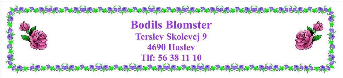 Bodils Blomster